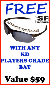 Free SF Sunglasses with any KD Players Bat