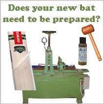 Cricket Bat Preparation