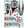 KD Fierce Series IV Bat Stickers