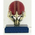 Cricket Ball Claw Trophy